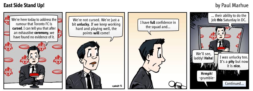 Cursed. A terrible matter. Part 5