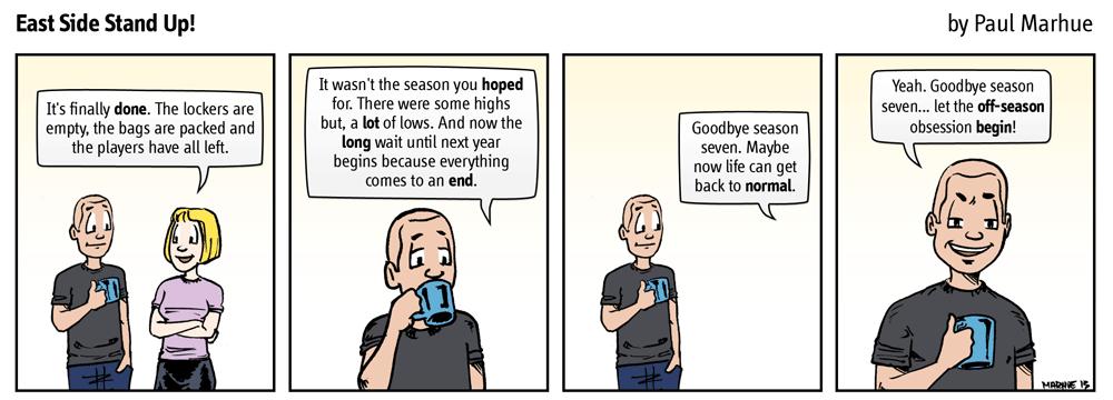 Goodbye season.