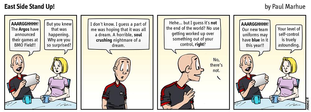 Self-control.
