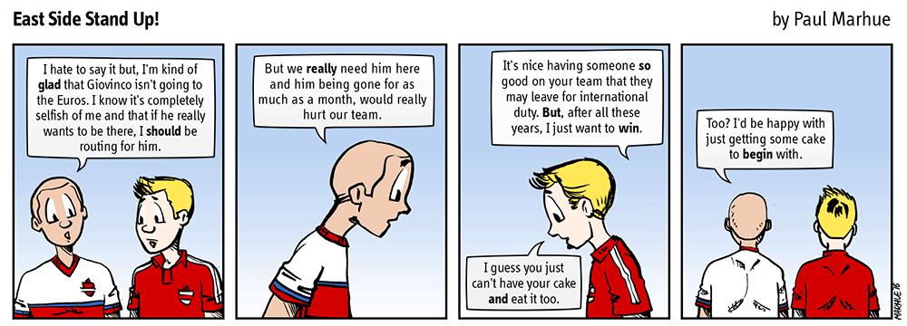 Bittersweet.